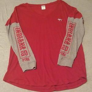 EUC, PINK Indiana shirt